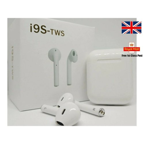 I9S TWS earpods 5.0 Wireless Earphone Earbuds IPHONE SAMSUNG SONY