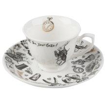 Creative Tops Victoria And Albert Alice In Wonderland Travel Mug Ceramic,