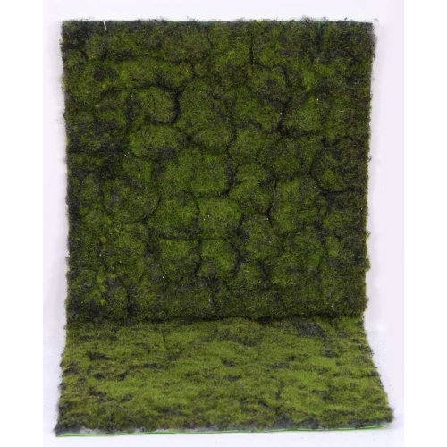 Artificial Topiary Moss Mat - 1m x 2m, Green