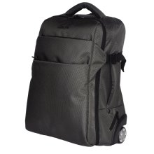 (Classic Grey) 3-In-1 GEEZY Wheeled Cabin-Size Travel Backpack