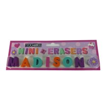 Childrens Mini Erasers - Madison
