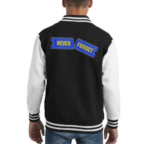 Blockbuster Never Forget Kid's Varsity Jacket