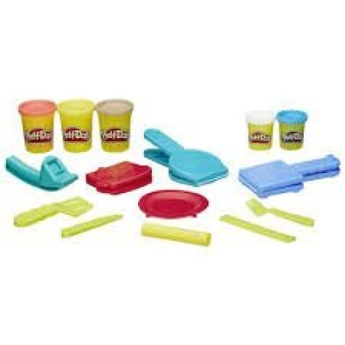 Mold Make And Serve Up A Fun Play Doh Breakfast Play Doh Breakfast Time Set By Buengna