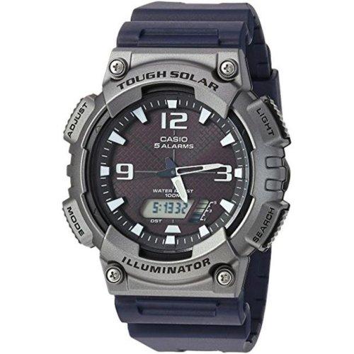 Casio AQS810W-1A4V Gunmetal Resin Casual Watch