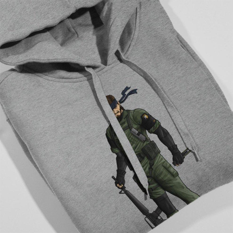 f780f4a9 ... Metal Gear Solid Peace Walker Big Boss Women's Hooded Sweatshirt ...
