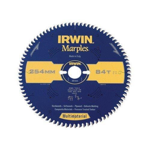 Irwin 1897470 Marples Circular Saw Blade Multi Material 254mm 84 Teeth