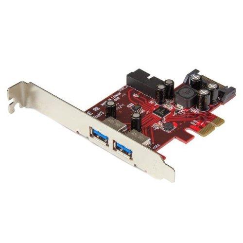 StarTech.com 4-port PCI Express USB 3.0 card - 2 external, 2 internal - SATA power