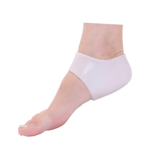 Comfortable Silicone White 3 Pair Heel Protector Heel Pads