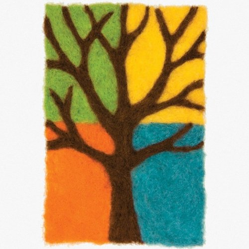 D72-73897 - Dimensions Needle Felting - Art: Tree