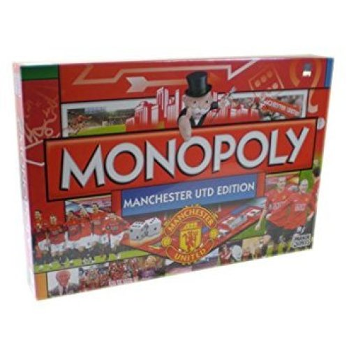 Manchester United FC Monopoly Family Board Game New Sealed