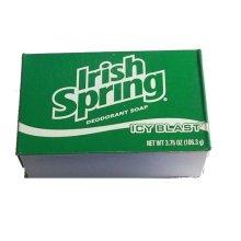 Irish Spring Icy Blast Cool Refreshment Deodorant Soap120 ml