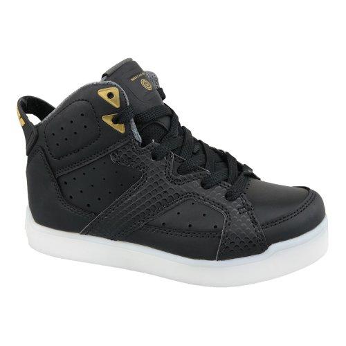 Skechers E-Pro Street Quest Lights 90615L-BLK Kids Black sneakers