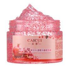 CAICUI Red Pomegranate Sleeping Mask Fresh Essence Hydrating Moisturize Pore Shrink Repair Face Care