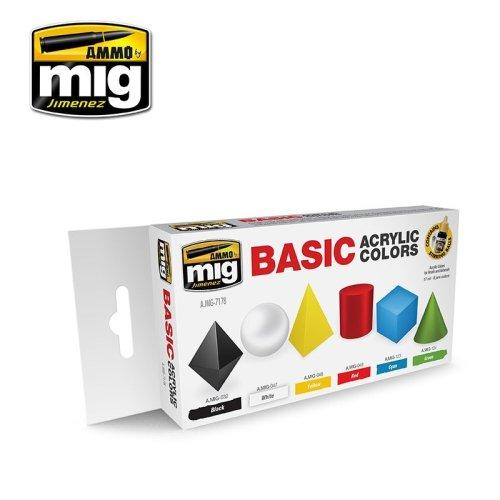 Ammo by Mig Basic Acrylic Colors