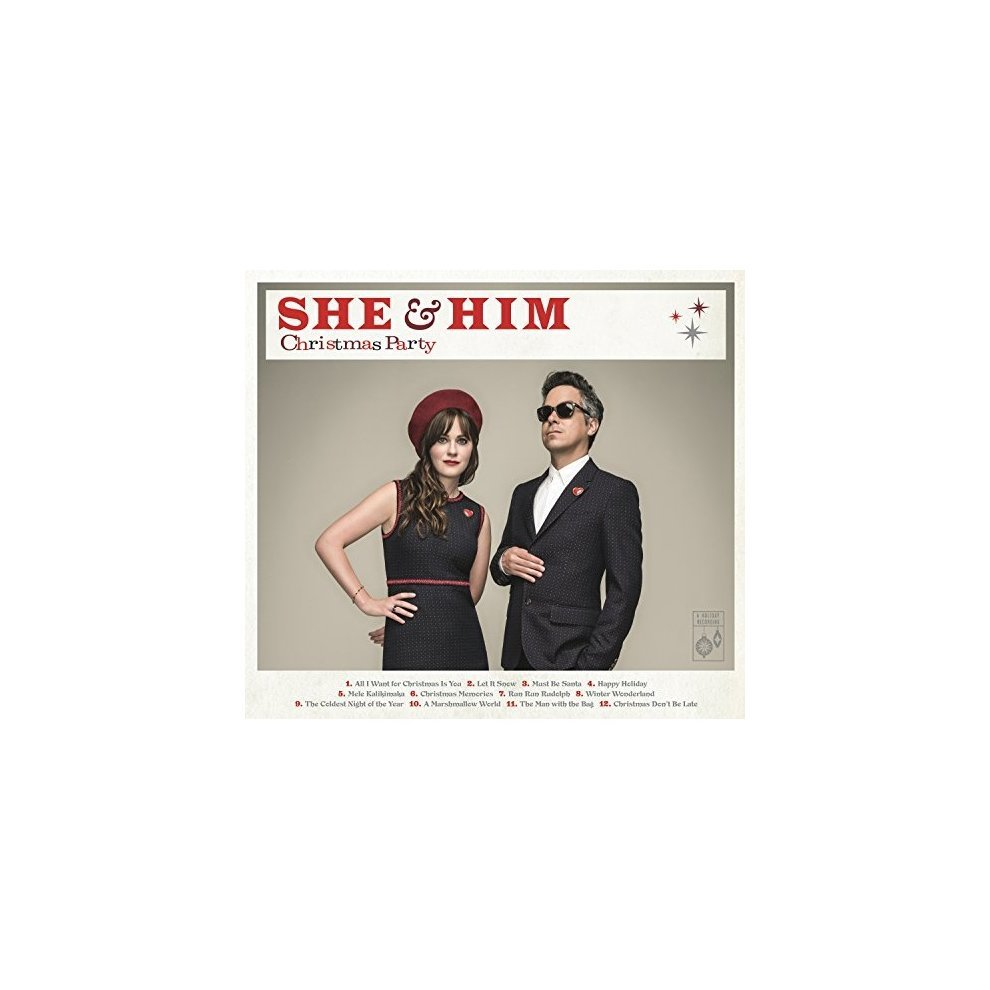 She And Him Christmas.She And Him Christmas Party Cd