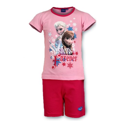 Frozen Short Pyjamas - Pink