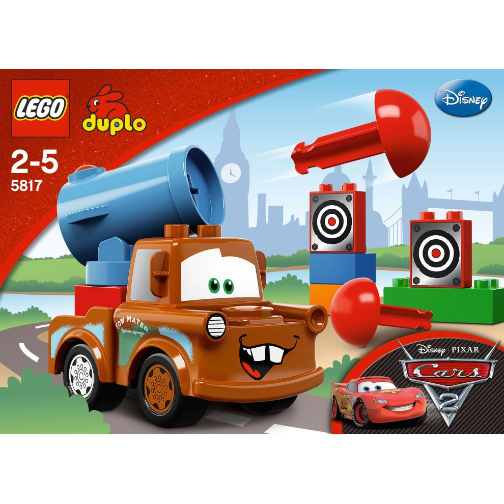 Lego Duplo Cars 5817 Agent Mater On Onbuy