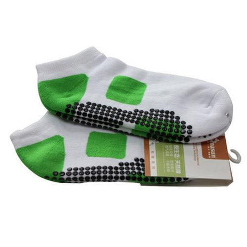 Girls Yoga Non Slip Socks Pilates Strong Grip Breathable Cotton Socks
