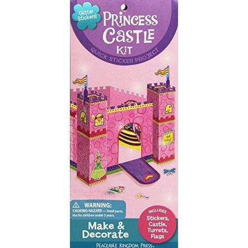 Peaceable Kingdom Princess Castle Quick Sticker Kit