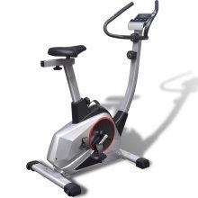 vidaXL Exercise Bike XL Magnetic Moving Mass 10 kg Pulse