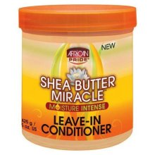 African Pride Shea Butter Miracle Leave in Conditioner 150z