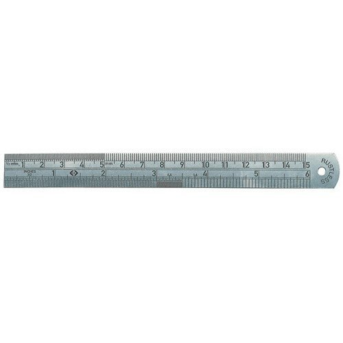 CK T3530 06 Stainless Steel Rule 150mm / 6""