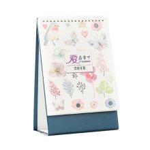 Memorandum Desk Standing Calendar 2018 Office/Home Student Calendar-Love