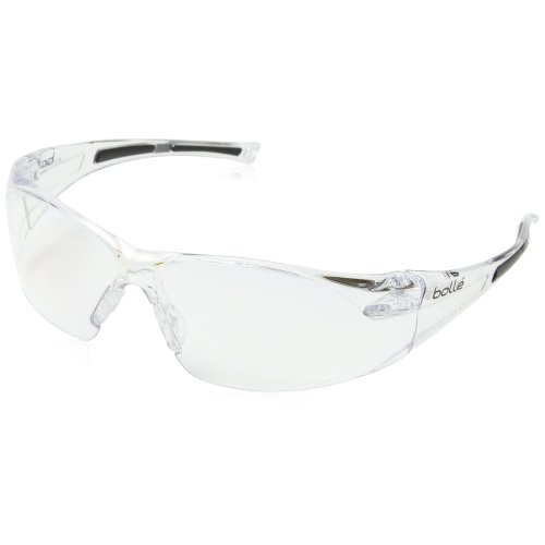 Bolle RUSHDPI HD Lens Rush Safety Glasses - Clear