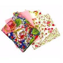 Fat Quarter Bundle - 100% Cotton - Verona Pink - Pack of 6