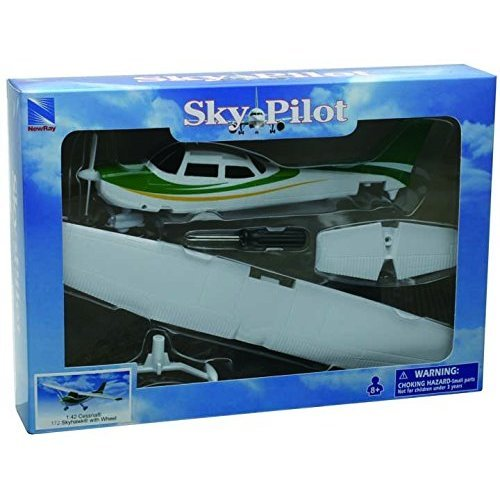 "New Ray 20665 ""Cessna 172 Skyhawk"" Model Water Plane Set"