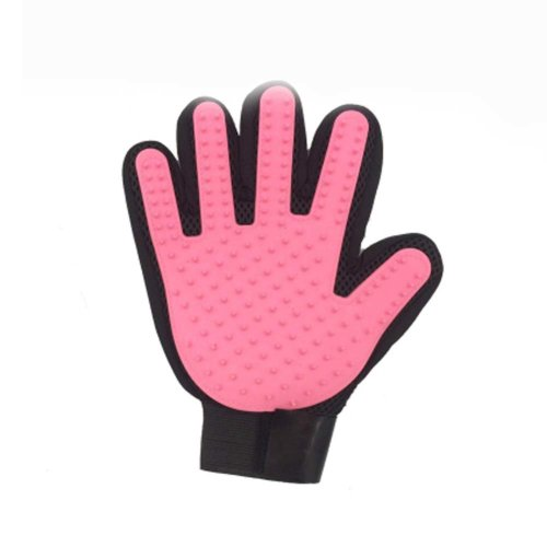 Pet Grooming Glove Gentle Deshedding Brush Glove Perfect for Dogs, Cats