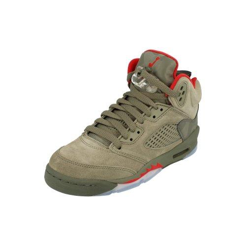 Nike Air Jordan Retro 5 GS Hi Top Trainers 440888 Sneakers Shoes