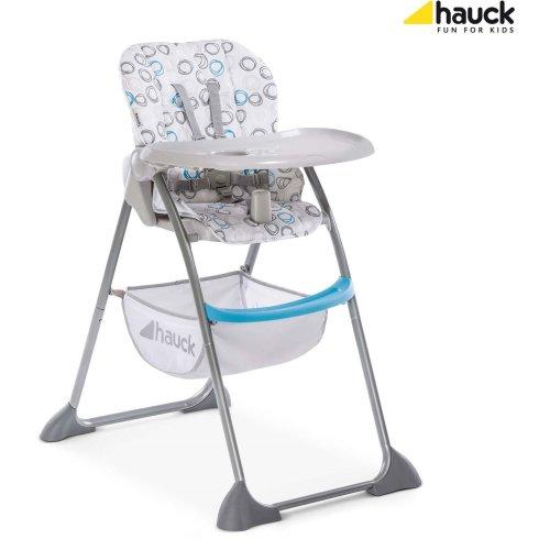 Hauck Sit'n Fold Highchair- Circles Blue