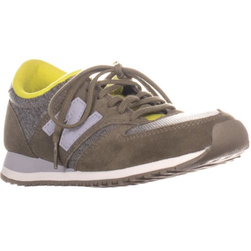 New Balance WL420LPB Lace Up Sneakers, Green Heather, 3 UK