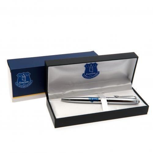 Everton FC Executive Chrome Ballpoint Pen Gift