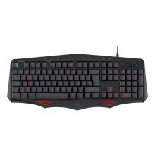SpeedLink Lamia Ergonomic Illuminated Gaming Keyboard (SL-670002-BK-UK)
