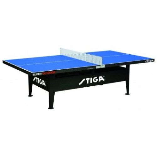 Stiga Table Tennis Table Super Outdoor Blue with a 10mm Top
