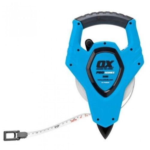 Ox P028230 Pro Open Reel Tape Measure 30 Metre 100ft