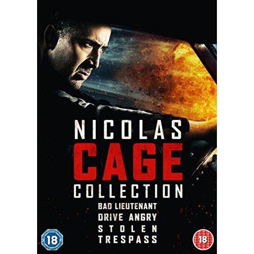 Nicolas Cage Quad Pack [DVD] [2015]