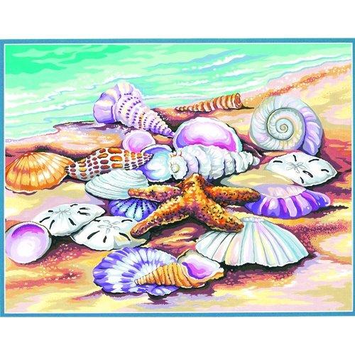 "Dpw91526 - Paintsworks Learn to Paint 14"" X 11"" - Shells"
