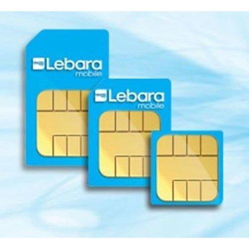 LEBARA MOBILE CHEAP INTERNATIONAL CALL- 1p PAY AS YOU GO MICRO - TRIO SIM CARD