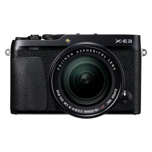 Fujifilm X-E3 with XF 18-55 lens (Black)