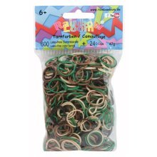 Official Rainbow Loom 600 Ct. Rubber Band Refill Pack Camouflage