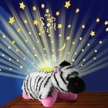 Pillow Pets Dream Lites - Zippity Zebra