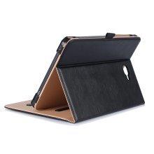 ProCase Samsung Galaxy Tab A 10.1 Case - Stand Folio Case Cover (Black)
