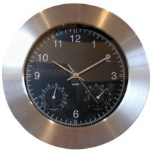 Eddingtons Weather Station Wall Clock -  eddingtons clock weather station wall