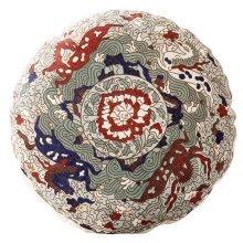 Pattern Round Cushion Home Pillowcase Sofa Home DÉCor Cushion(Insert Included)