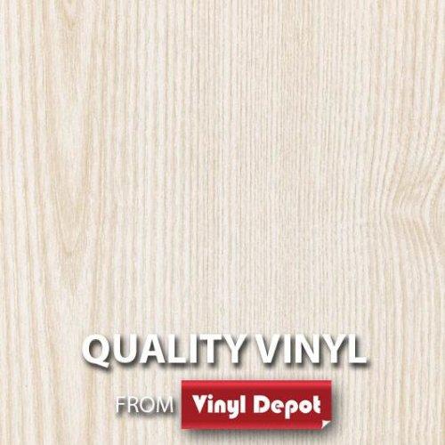 d-c-fix Sticky Decor Self-Adhesive Wood Vinyl Fablon Ash White 675mm/m