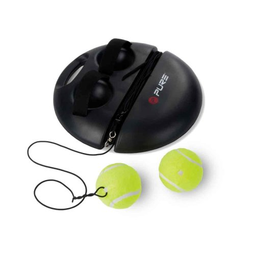 Pure2Improve Tennis Elasticated Ball Trainer for Home and Garden