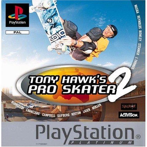 Tony Hawk's Pro Skater 2 - Tony Hawk's Pro Skater 2 - Platinum (PS)